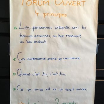 3 Forum ouvert - Principes