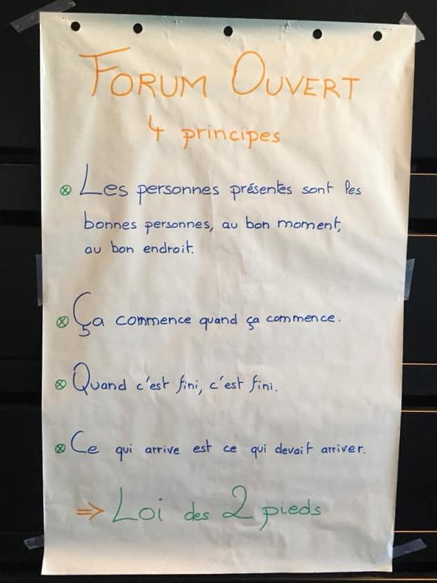 3 Forum ouvert - Principes